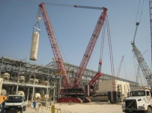 CC 8800-1 Lattice Boom Crawler Crane